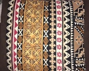 Tapa Print Decorative Cushion Cover