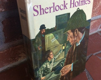 Adventures of Sherlock Holmes - A. Conan Doyle - Young Adult Book - Book Decor - Literary Gift