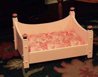 Wooden Dog Bed, Dog Bed, handmade dog bed, dog furniture