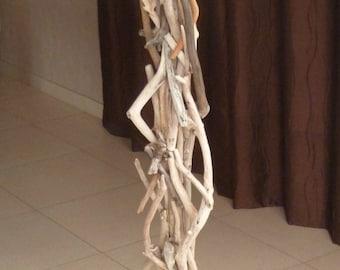 Floor lamp, lamp Driftwood