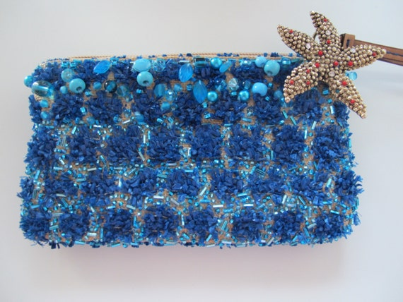Handcrafted Clutch 'Under the Water'