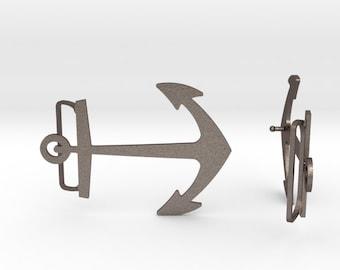Anchor Belt Buckle | 3D Printed Steel Belt Clasp