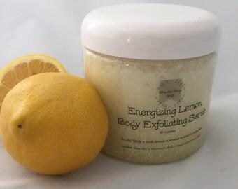 Energizing Lemon Body Exfoliating Scrub