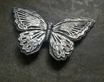 Polished Smalller Butterfly Wall Hanging/Paper Weight
