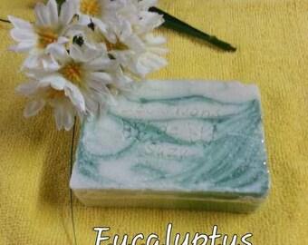 SOAP has Eucalyptus + or - 135 grams