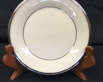 """LENOX SOLITAIRE Bread & Butter Plate 6 3/8"""""""