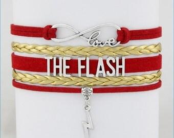 THE FLASH Infinity Love Bracelet