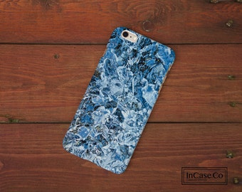 Blue Ice Marble Phone Case. For iPhone Case, Samsung Case, LG Case, Nokia Case, Blackberry Case and More!