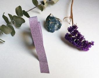 Light Purple/Pink Glitter Washi Tape