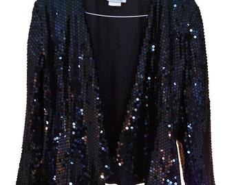 Vintage Claraluna Original sequin jacket