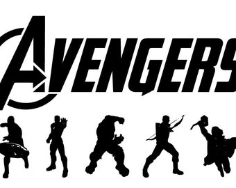 Avenger  eps, Avenger  svg, Avenger  silhouette, Avenger , cutting files, Avenger stamped, silhouette files,  Avengers svg, Superhero eps