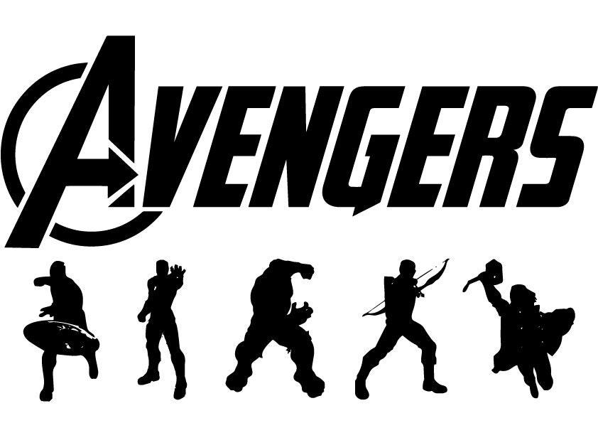Avenger Eps Avenger Svg Avenger Silhouette Avenger