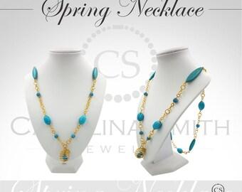 Spring Necklace by Carolina Smith Jewelry [CC-PC15-001-A]