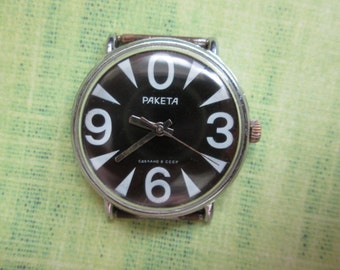 Watch Raketa ZERO ussr 2609 HA Wrist Watch SERVICED