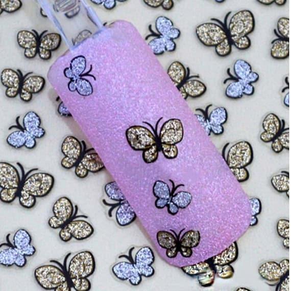 3pcs 3D Butterfly Nail Sticker / Nail Art / Nail Tools / Nail Decals ...