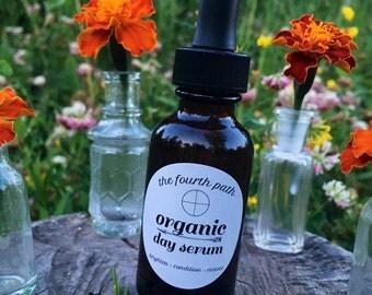 ORGANIC DAY SERUM. skin care. anti-aging serum.