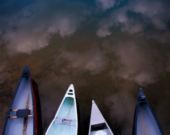 Boats in the Sky