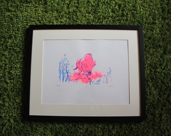 Bison | Original hand pulled screenprint