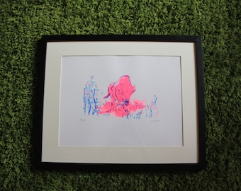 Bison | Original hand pulled screenprint