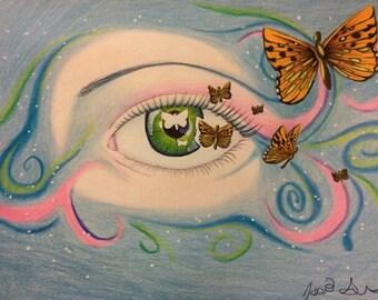 Butterfly eye- breaking free