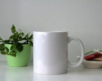 Custom handlettered mug