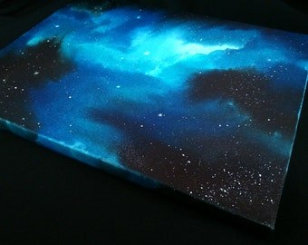 Space Canvas Painting - Infinity