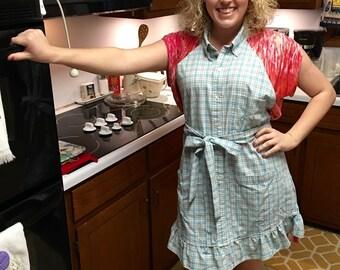 Handmade Dress Shirt Apron