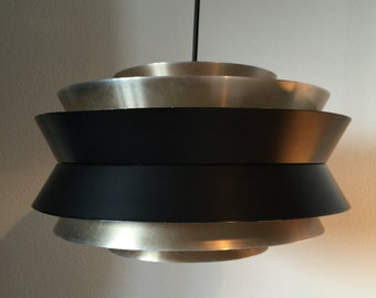 Carl Thore, Granhaga Sweden, retro hanging lamp