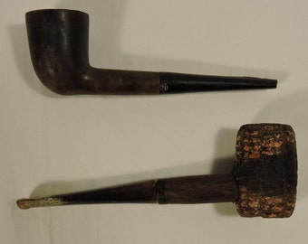 Old smoking Pipes Corn Cob Vintage