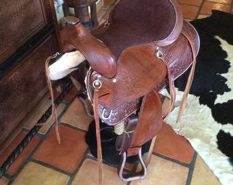 Saddle Barstool