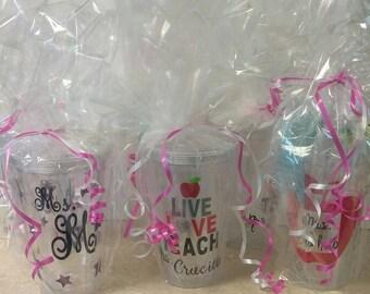 Teachers 16 oz cups (No shipping)