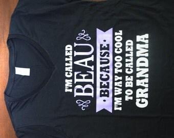 Way Too Cool for Grandma Shirt