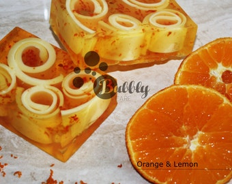 Orange & Lemon Handmade Soap