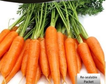 Imperator Carrot Seeds Packet