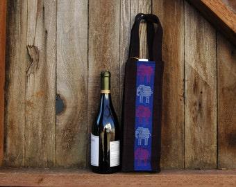Woven Wine Bag