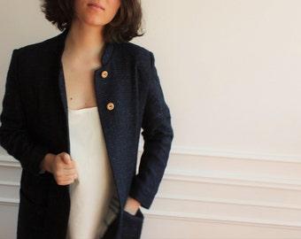 Mate blue coat