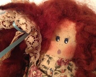 Vintage hand-sewn doll