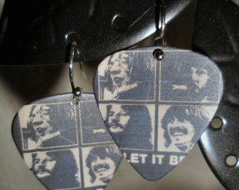 The Beatles Dangle Earrings