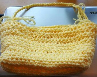 Yellow child handbag