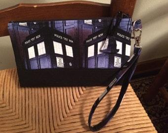 Doctor Who Wristlet Purse - TARDIS