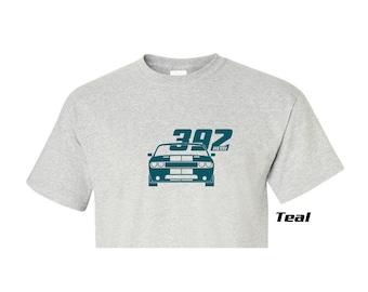"Dodge Challenger ""392 Hemi"" Design Ash T Shirt Many Sizes & Design Colors"