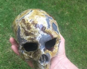 Skull iron oxide