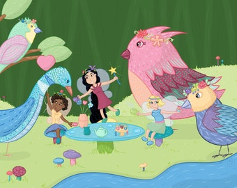 Fairy Princess Tea Party, poster