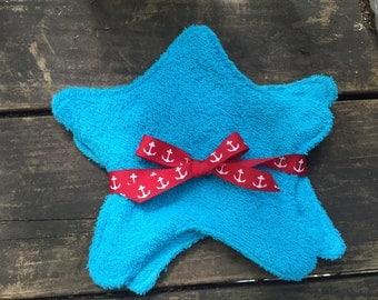 Starfish wash cloths