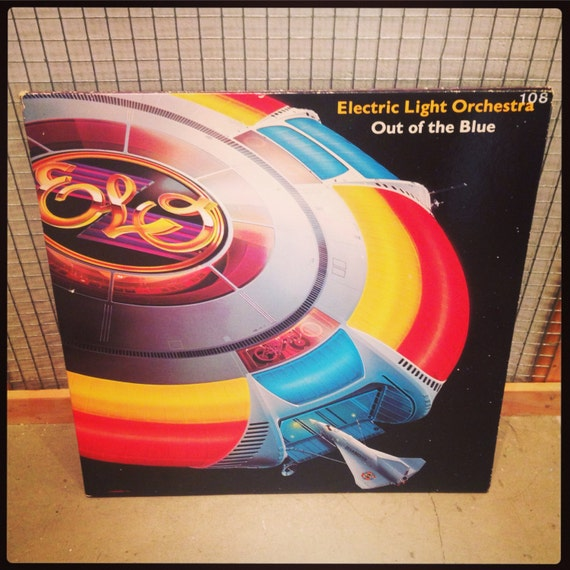 ELO - Out of the Blue vinyl