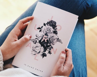 A Guided Journal for the Bride's Heart - The Bare Bride Journal - For the bride who deserves more than a casserole dish.