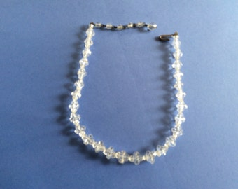Vintage Crystal necklace jewelry