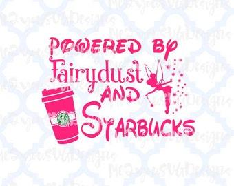 Fairydust and Starbucks SVG,EPS,PNG,Studio