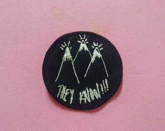 """Patch """"They Know!!!!"""" mini version"""