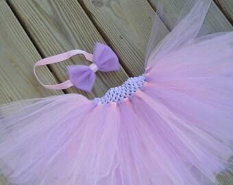 Light Pink and Light Purple Baby/Toddler Tutu